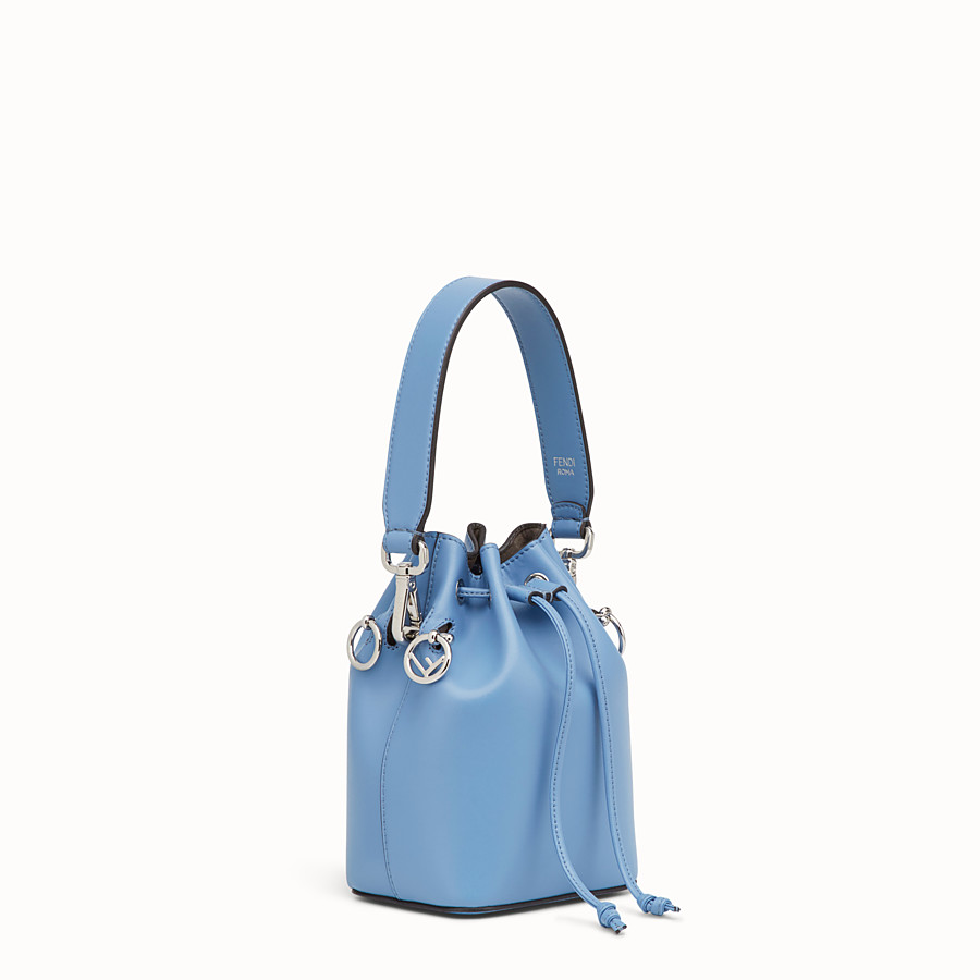 FENDI MON TRESOR - Pale blue leather minibag - view 2 detail