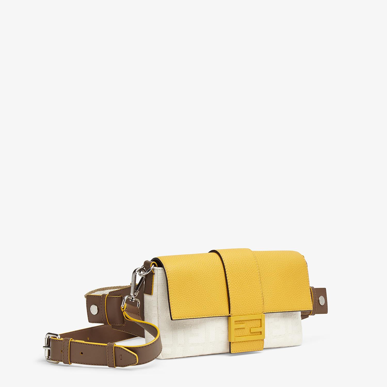FENDI BAGUETTE - White canvas bag - view 2 detail