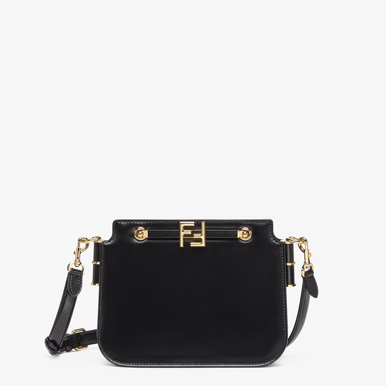 FENDI FENDI TOUCH - Black leather bag - view 1 detail