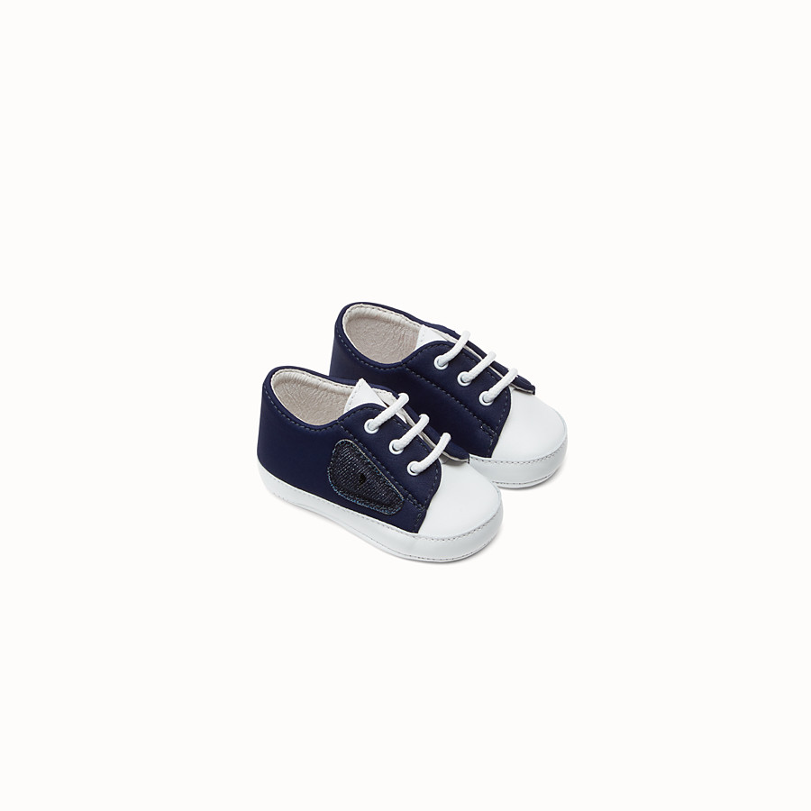 FENDI SCHUHE - Schuhe aus blauem Lycra - view 1 detail