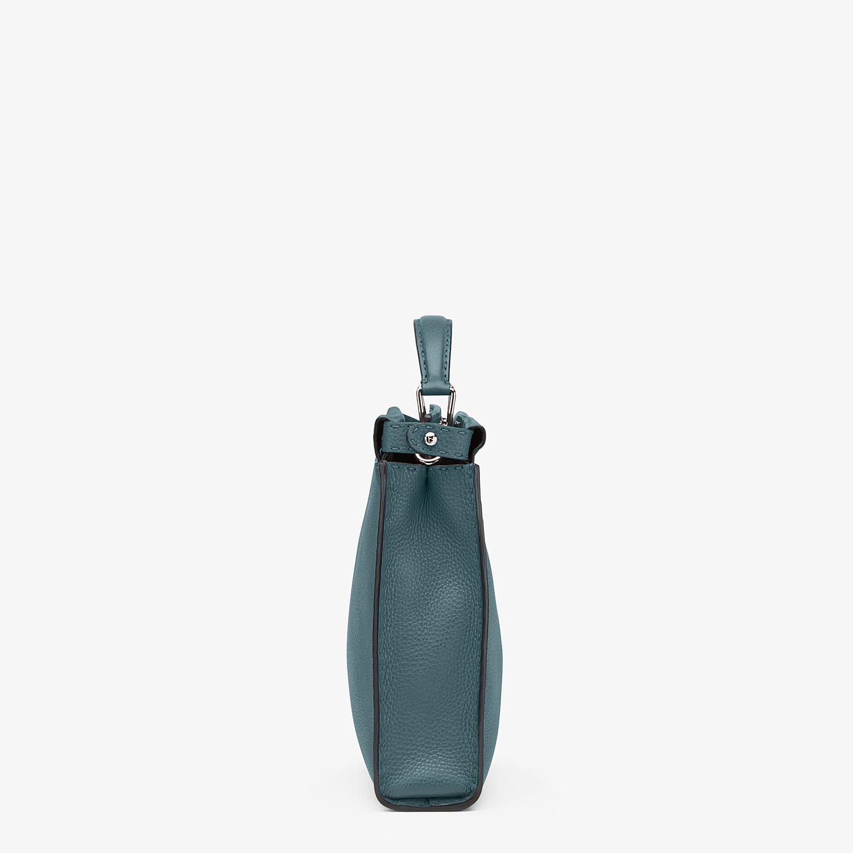 FENDI PEEKABOO ICONIC FIT - Green leather Selleria bag - view 2 detail