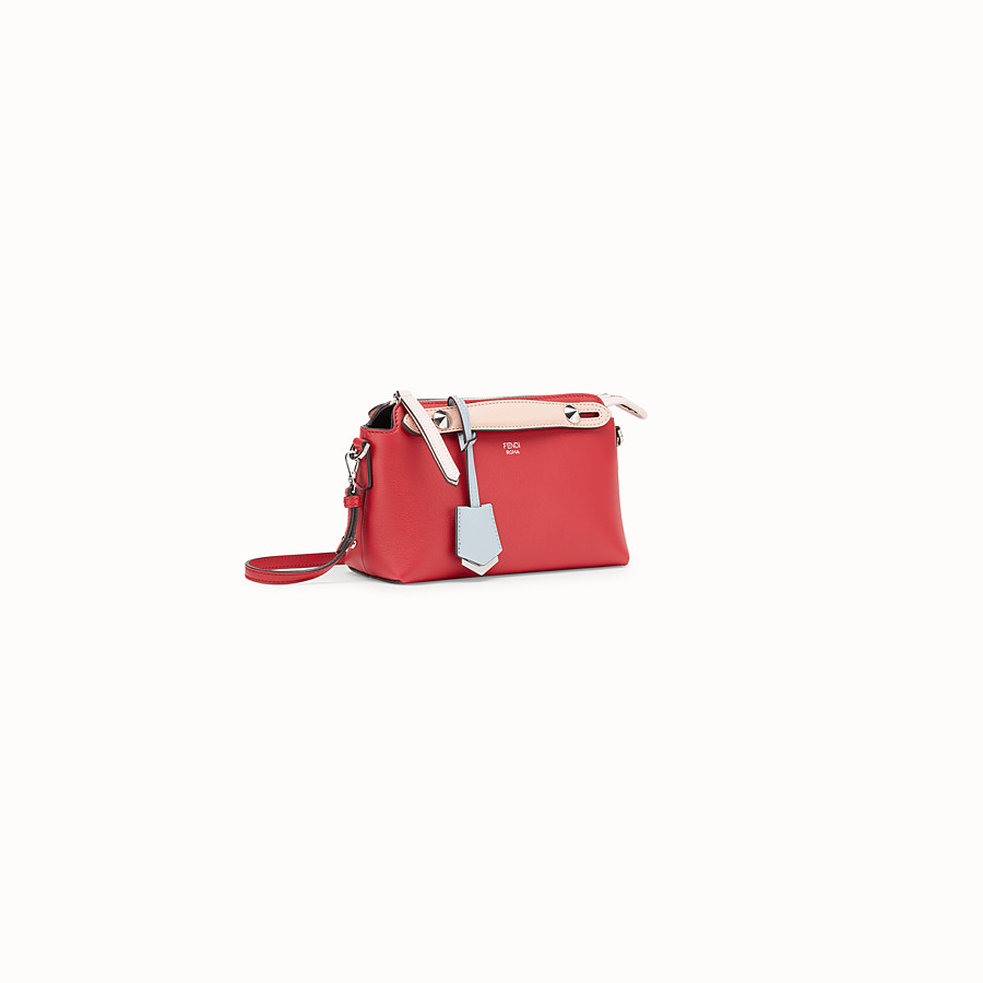 FENDI BABY BY THE WAY - Red leather mini By The Way - view 2 detail