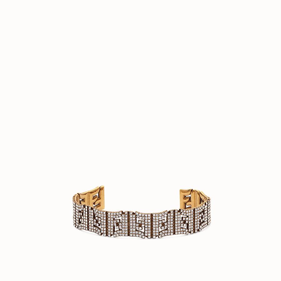 FENDI FFREEDOM BRACELET - Gold-colour bracelet - view 1 detail