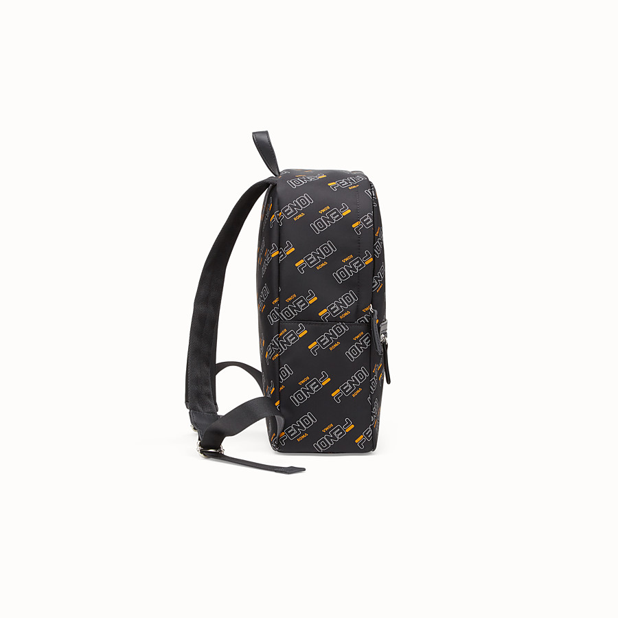 FENDI BABY BACKPACK - Black nylon backpack - view 2 detail