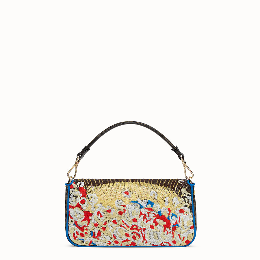 FENDI BAGUETTE - Multicolor fabric bag - view 3 detail