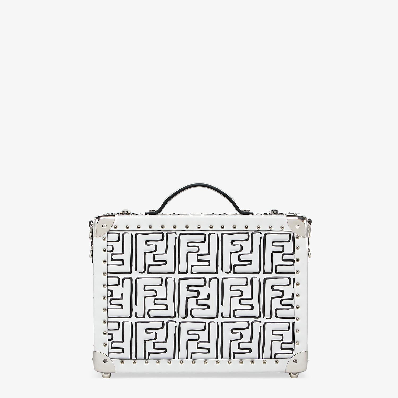 FENDI RIGID SUITCASE SMALL - Fendi Roma Joshua Vides leather suitcase - view 1 detail