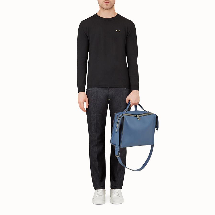 FENDI 信差包 - 藍色光滑皮革手提包 - view 5 detail