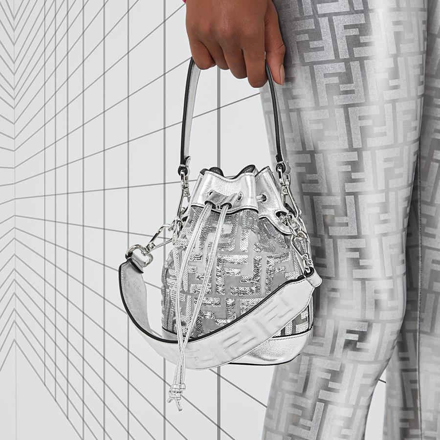 FENDI MINI STRAP YOU - Fendi Prints On Schulterriemen aus Leder - view 3 detail