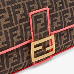 FENDI BAGUETTE LARGE - Fendi Roma Amor fabric bag - view 5 thumbnail