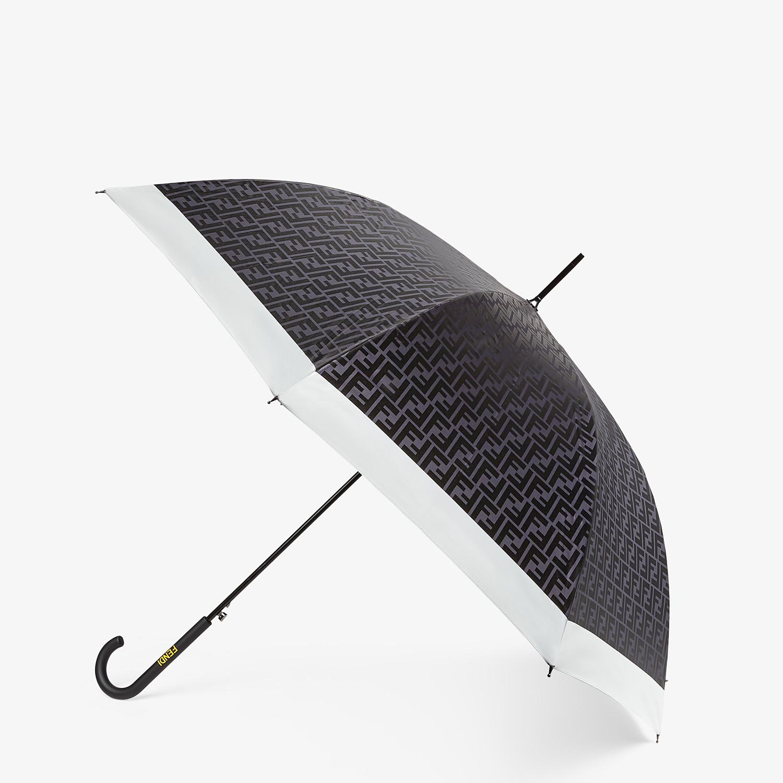 FENDI UMBRELLA - Black tech fabric umbrella - view 1 detail