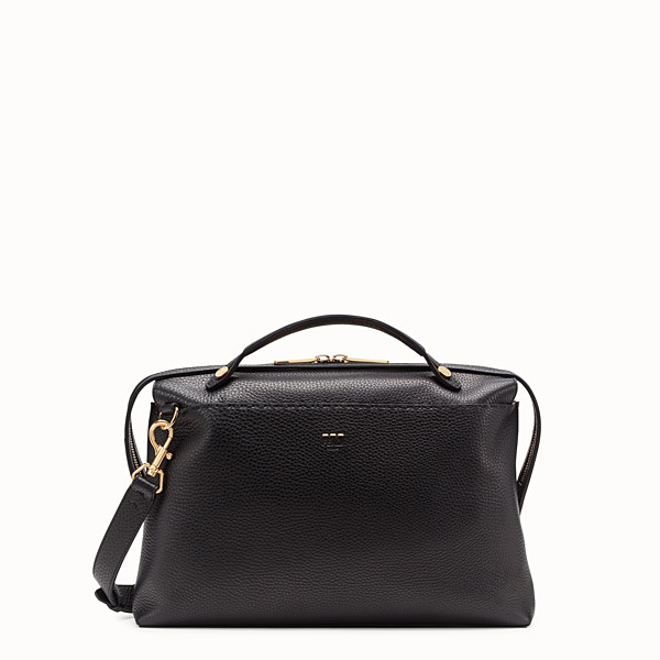 FENDI BY THE WAY - Black leather bag - view 1 small thumbnail