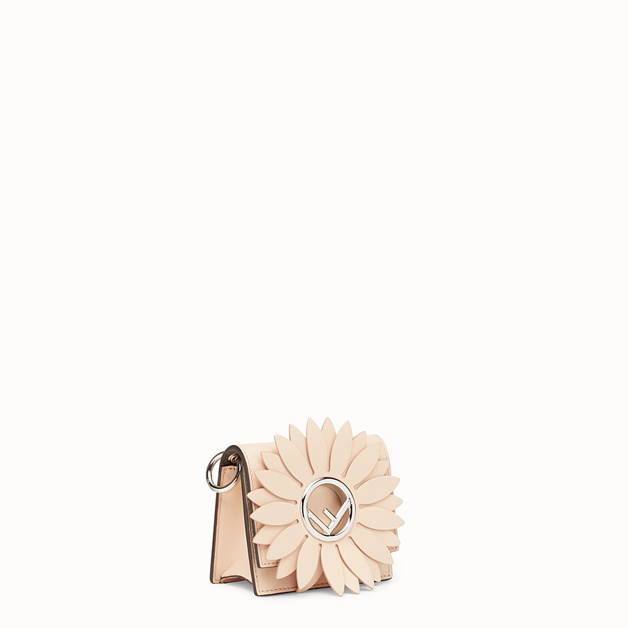 FENDI MICRO KAN I F - Pink leather micro-bag - view 2 detail