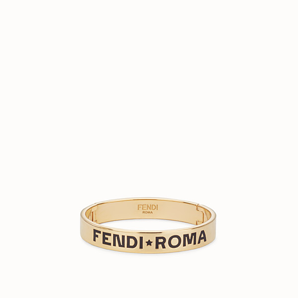 FENDI FF BRACELET - Gold-color bracelet - view 1 small thumbnail