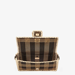 FENDI BAGUETTE - Brown fabric bag - view 5 thumbnail