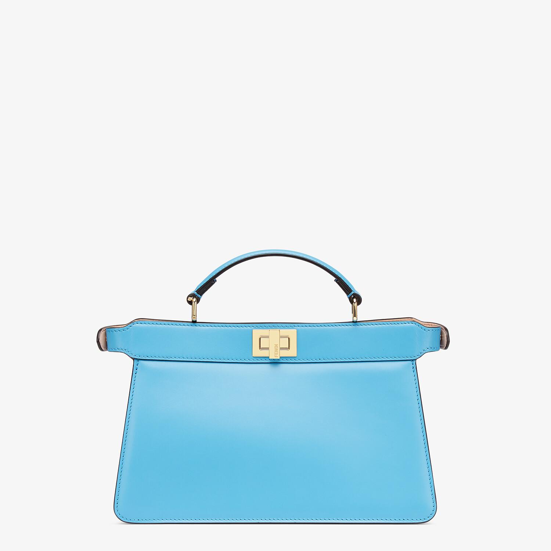 FENDI PEEKABOO ISEEU EAST-WEST - Blue leather bag - view 4 detail