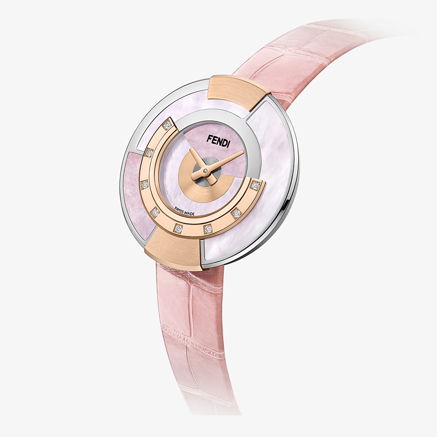 FENDI POLICROMIA - 33 mm - Watch with diamonds and natural stones - view 2 detail