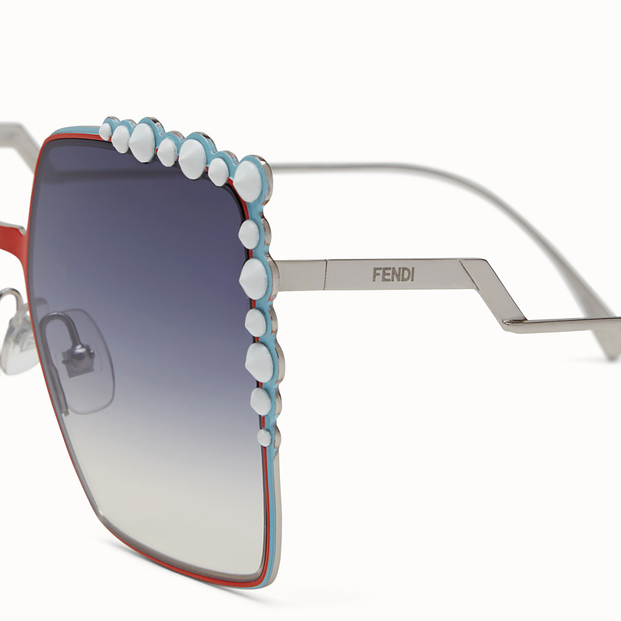 FENDI CAN EYE - Zweifarbige FS 17 Runway-Sonnenbrille - view 3 detail