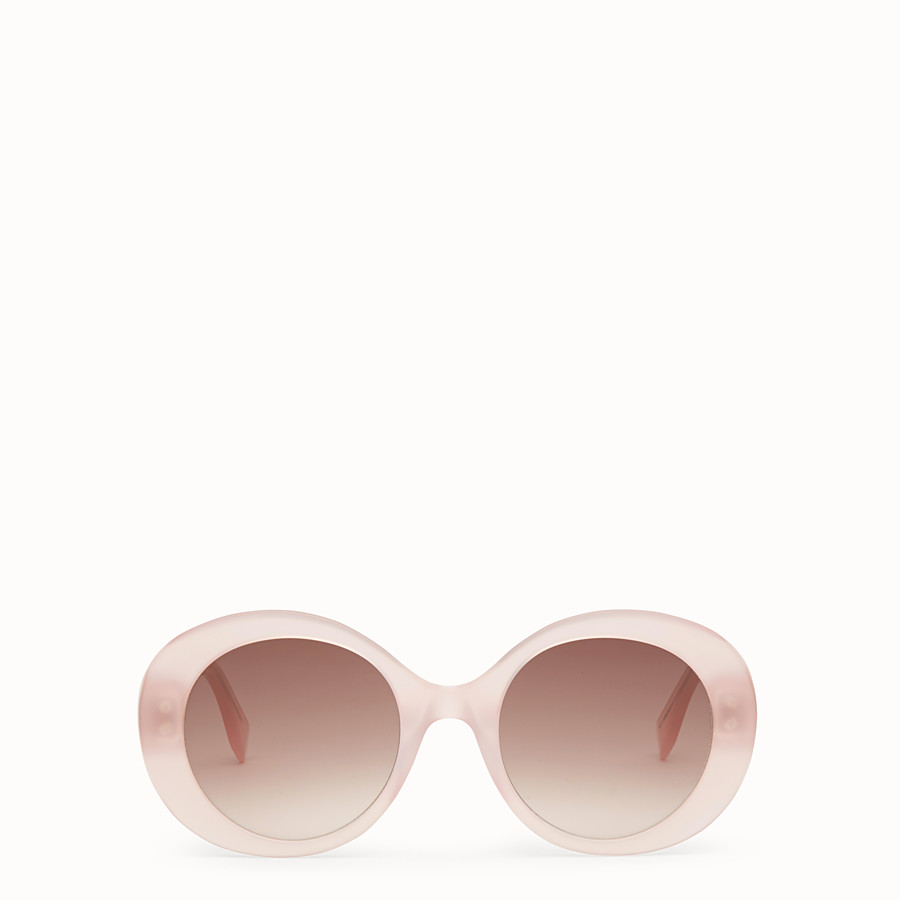 FENDI PEEKABOO - Pink sunglasses - view 1 detail