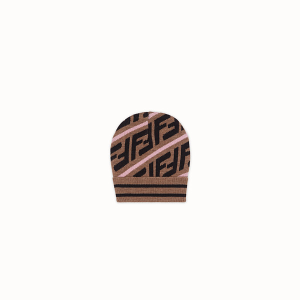 FENDI HAT - Brown cotton hat - view 1 small thumbnail