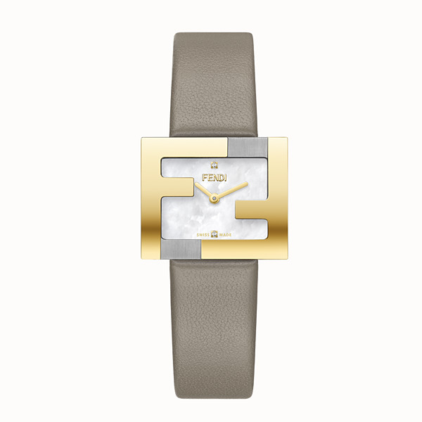 FENDI FENDIMANIA - 24 x 20 MM - Watch with FF logo bezel - view 1 small thumbnail