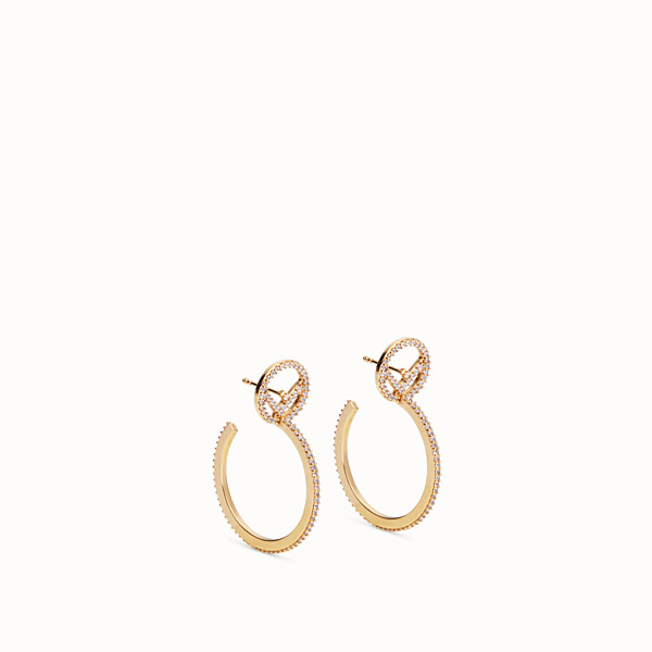 FENDI F IS FENDI EARRING - Gold-color earring - view 1 small thumbnail