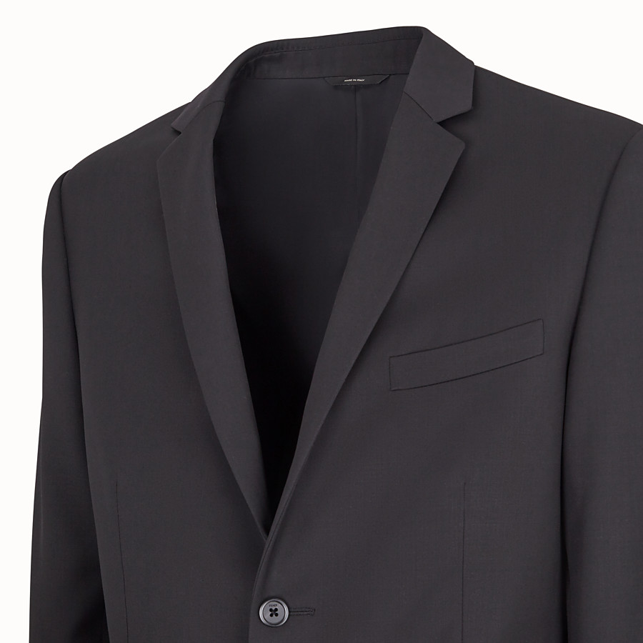 FENDI DRESS - Black wool suit - view 2 detail