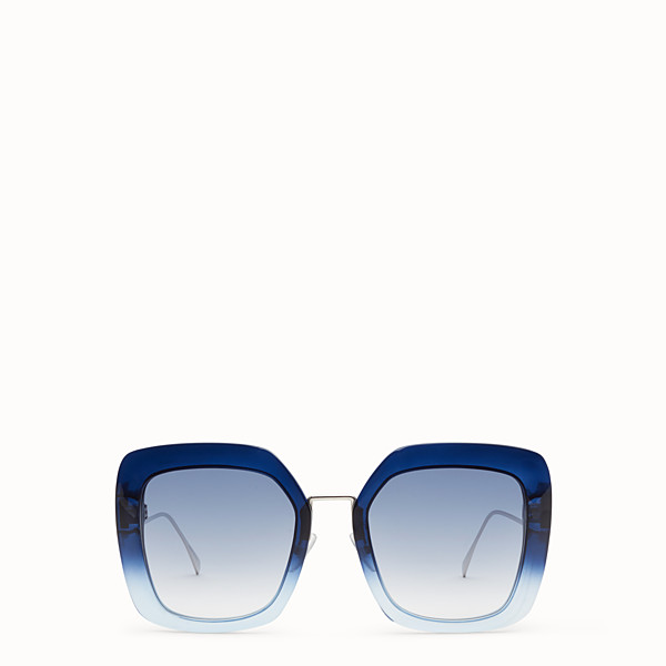 FENDI TROPICAL SHINE - Blue and pale blue sunglasses - view 1 small thumbnail