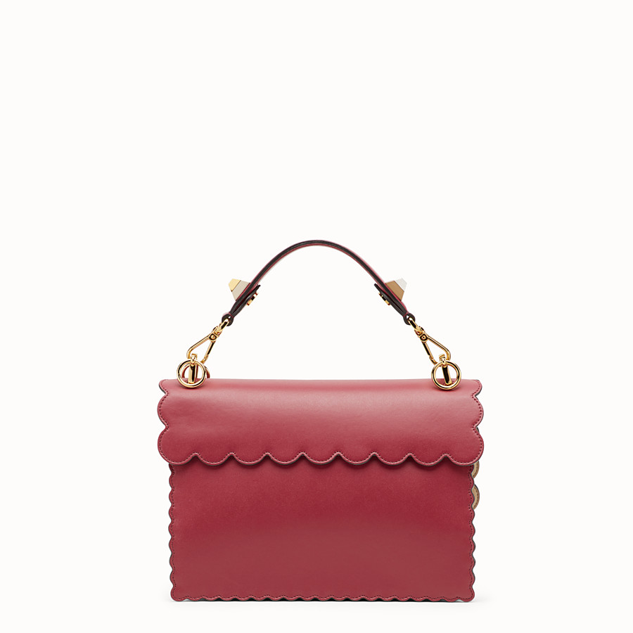 FENDI KAN I - Red leather bag - view 3 detail