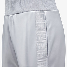 FENDI pants - Silver tech fabric jogging pants - view 3 thumbnail