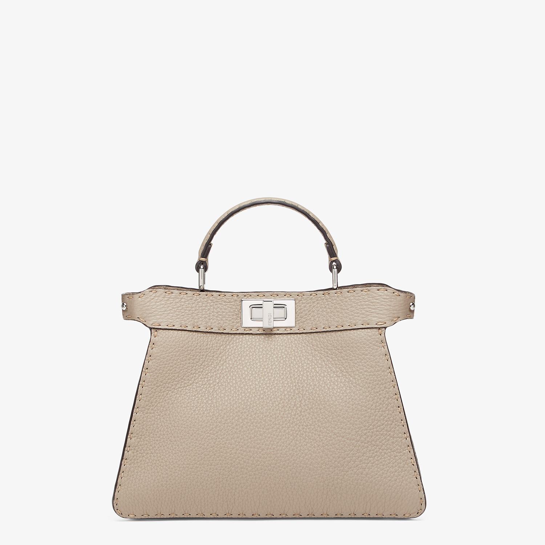 FENDI PEEKABOO I SEEU SMALL - Dove grey Selleria bag - view 1 detail