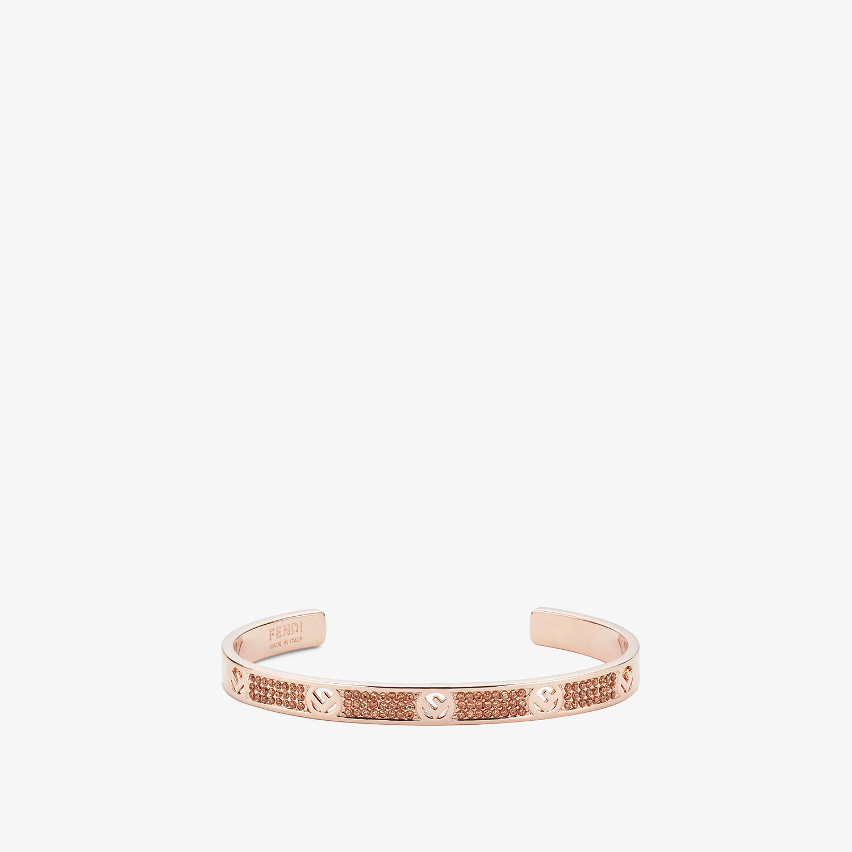 FENDI F IS FENDI BRACELET - Pink-gold-coloured bracelet - view 1 detail