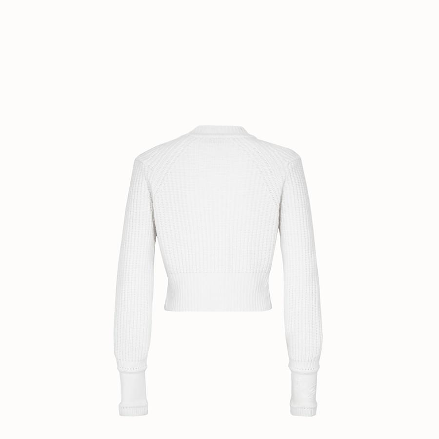 FENDI 毛衣 - 白色羊絨毛衣 - view 2 detail