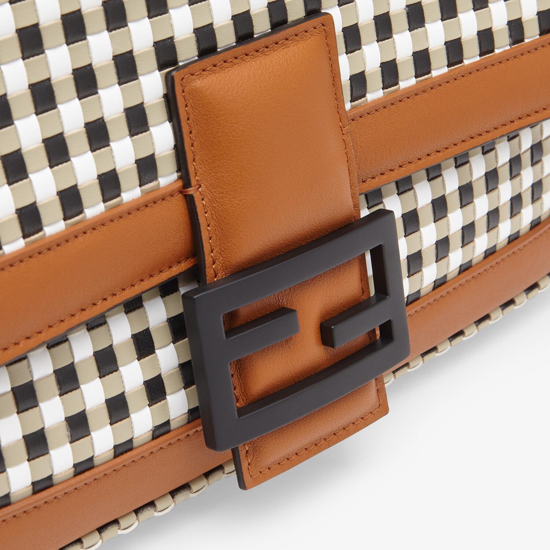 FENDI BAGUETTE CHAIN - Vichy interlace bag - view 6 detail