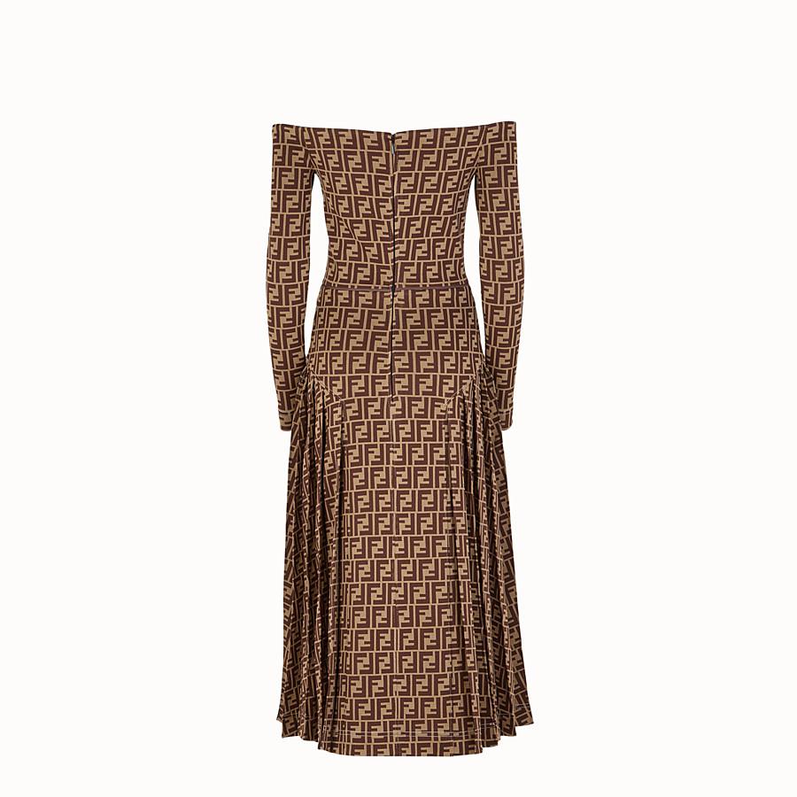 FENDI DRESS - Multicolour jersey dress - view 2 detail