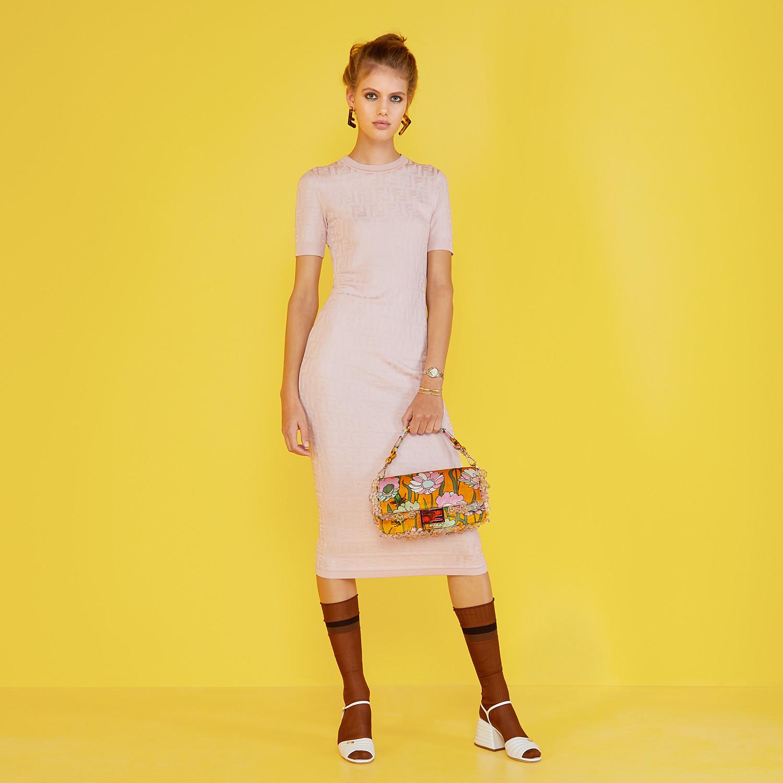 FENDI BAGUETTE - Bag in multicolor chenille - view 2 detail