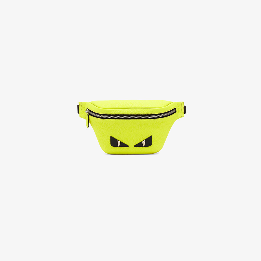 FENDI BABY BELT BAG - Yellow leather belt bag - view 1 detail