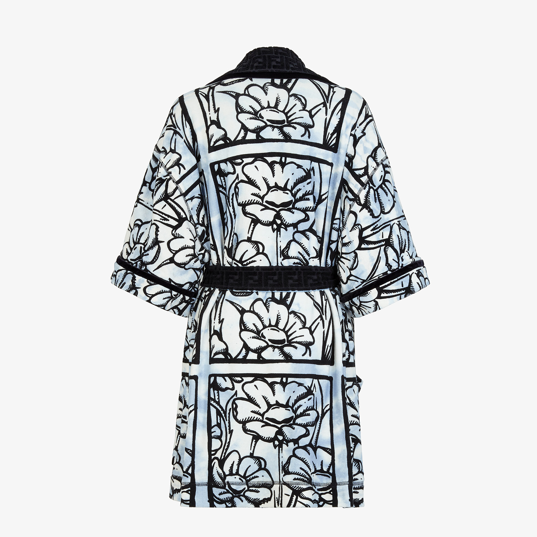 FENDI BATHROBE - Fendi Roma Joshua Vides terry bathrobe - view 2 detail