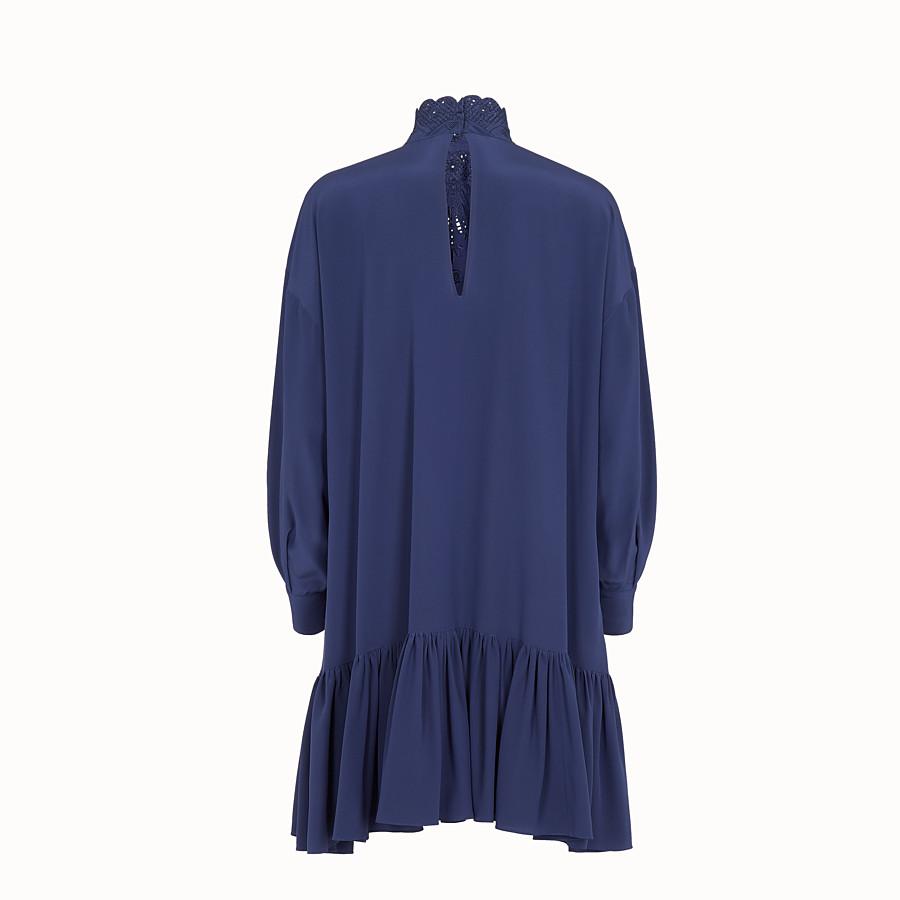FENDI 洋裝 - 藍色真絲洋裝 - view 2 detail