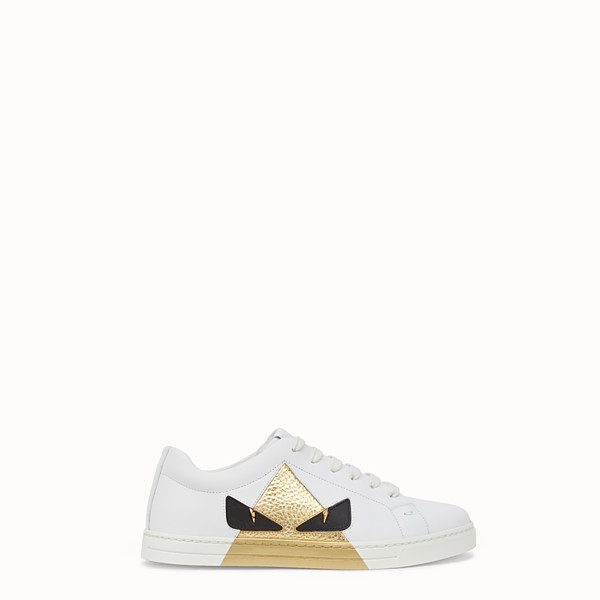 FENDI SNEAKERS - White leather sneakers - view 1 small thumbnail