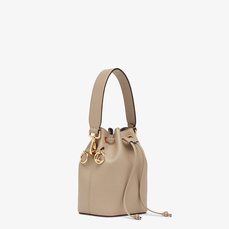 FENDI MON TRESOR - Beige leather mini-bag - view 2 detail