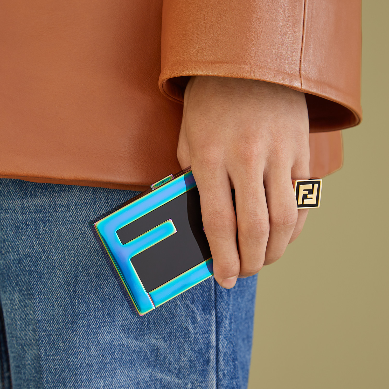 FENDI RING - Gold-color ring - view 2 detail