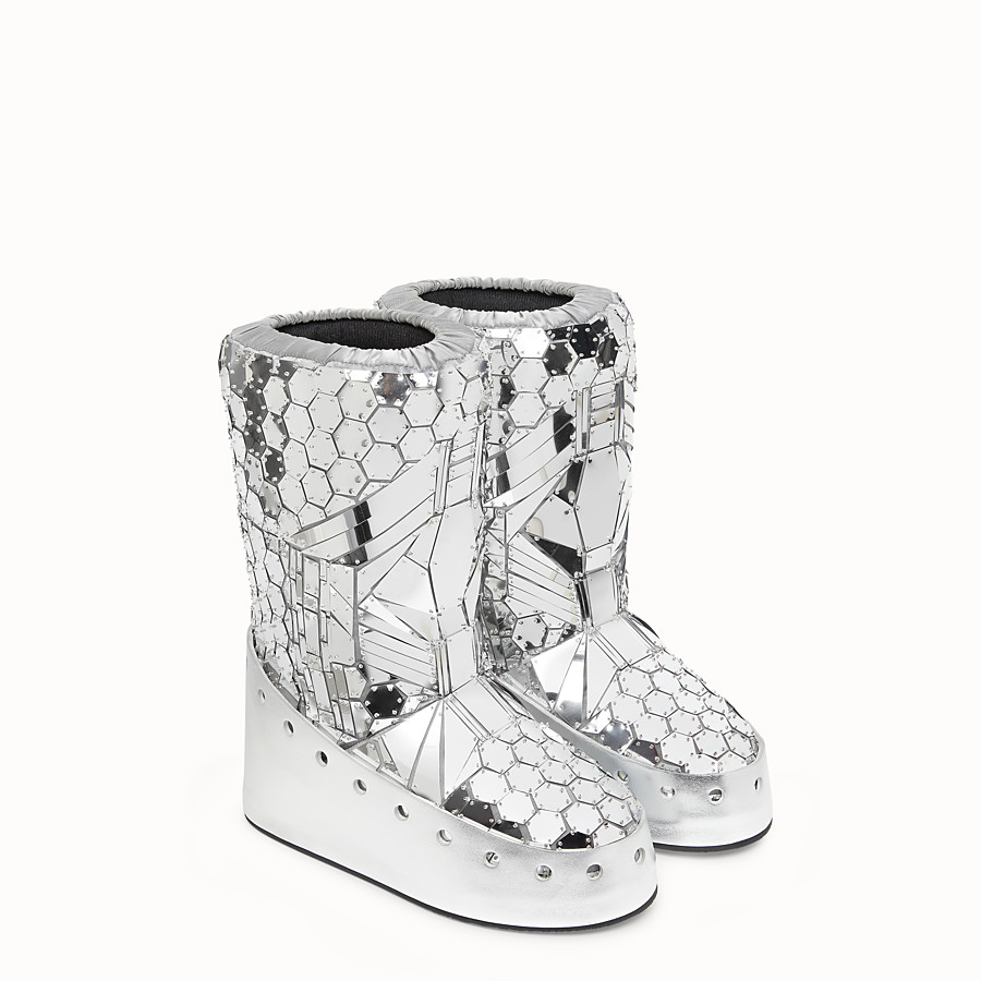 FENDI SKI BOOT - Fendi Prints On boots with mirror effect - view 4 detail