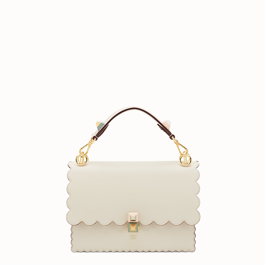 37c4afbdcc9f White leather bag - KAN I