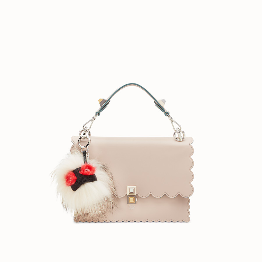 FENDI BAG BUG EYE DROP - Multicolour fur charm - view 2 detail