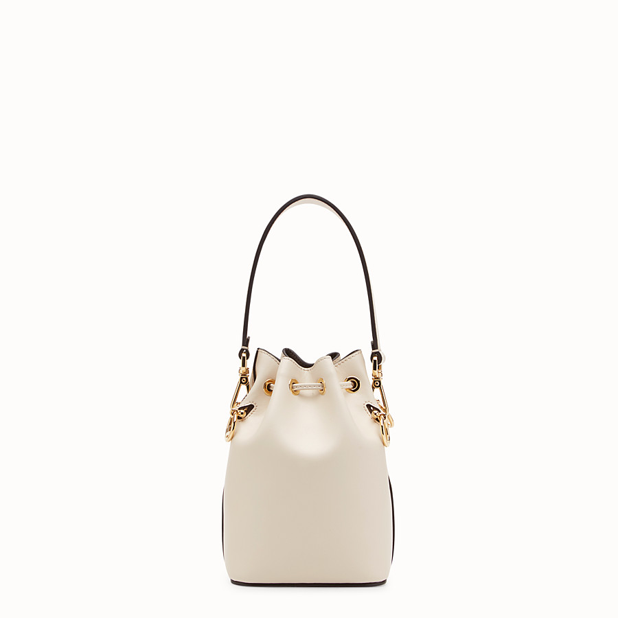 FENDI MON TRESOR - White leather mini-bag - view 3 detail