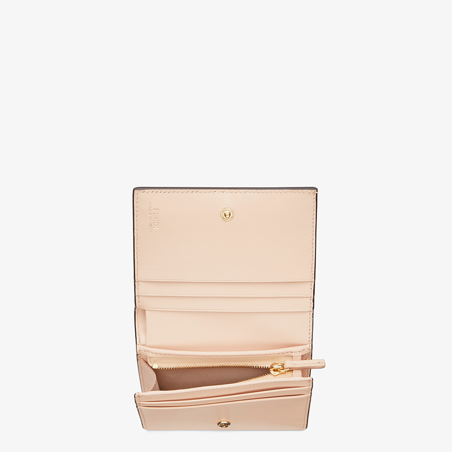 FENDI SMALL WALLET - Multicolor leather wallet - view 3 detail