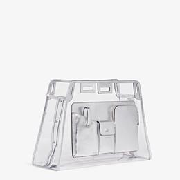 FENDI PEEKABOO DEFENDER MEDIUM - Hülle für Peekaboo aus PVC, Transparent - view 2 thumbnail
