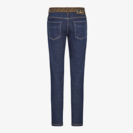 FENDI JEANS - Jeans aus Denim in Blau - view 2 thumbnail