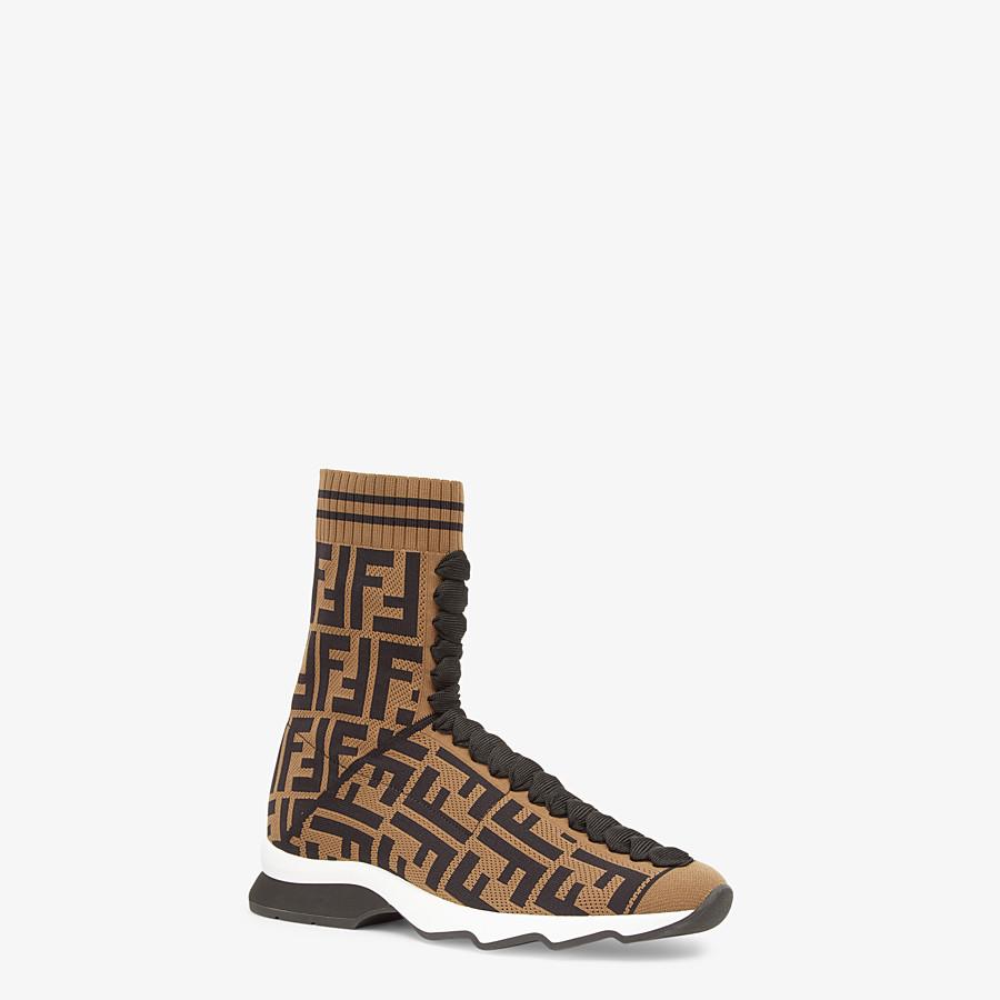 FENDI SNEAKERS - Sneakers en tissu multicolore - view 2 detail