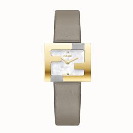 FENDI FENDIMANIA - 24x20mm– Uhr mit eingesetztem Logo FF - view 1 thumbnail